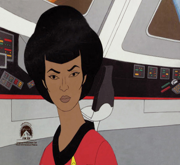 Star Trek Lt. Uhura Original Production Cel